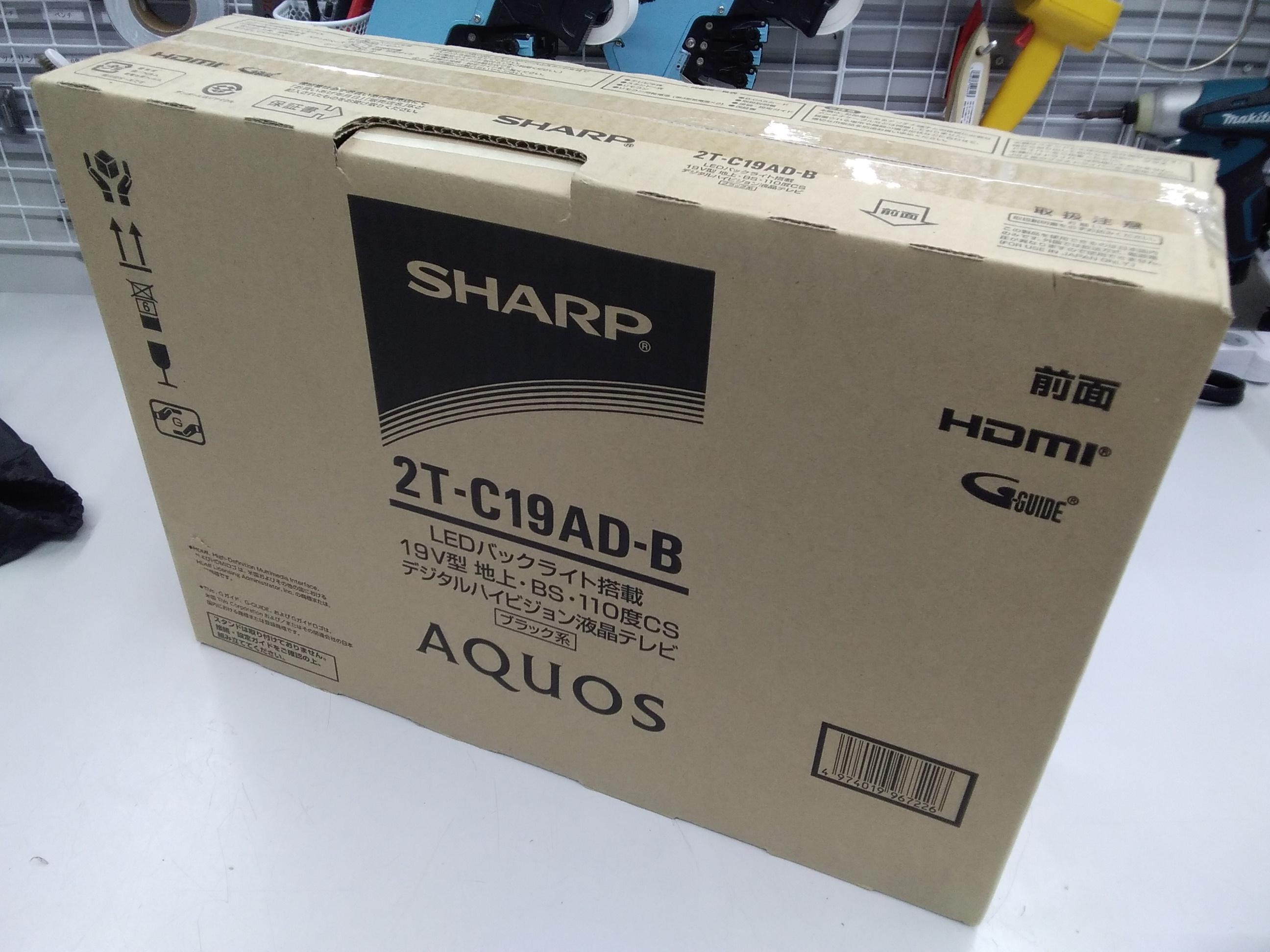 (未開封)2T-C19AD-B/液晶テレビ|SHARP