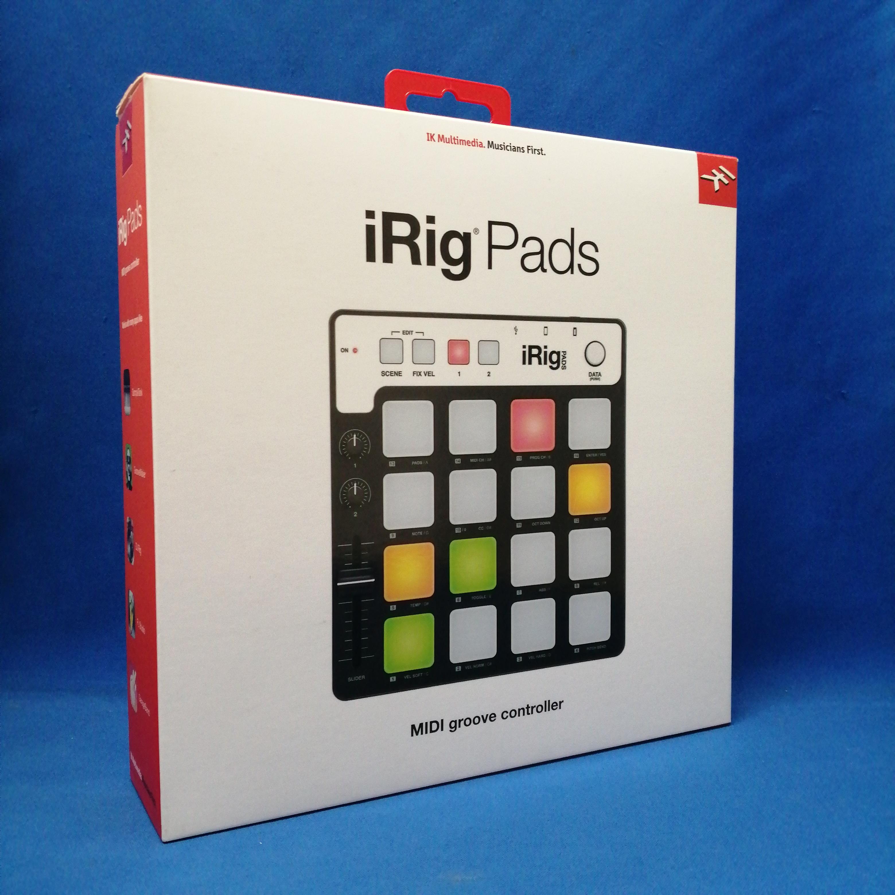IRIG PADS/IKM-OT-000039/MIDIコン|IK MULTIMEDIA