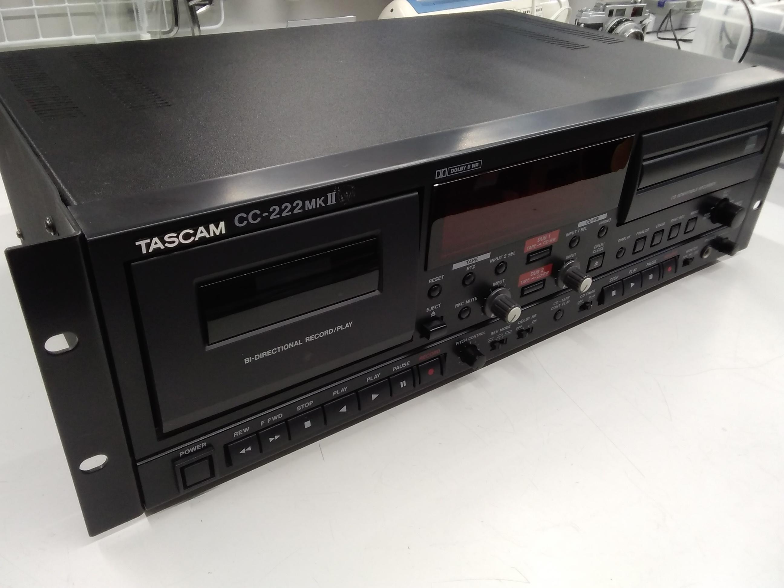 CC-222MKⅡ/CD/カセットレコーダー|TASCAM