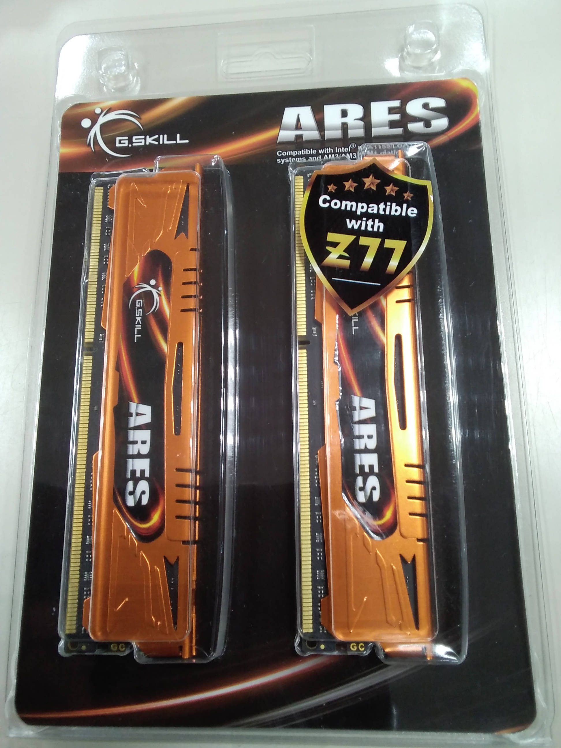 DDR3-1600/PC3-12800|ARES