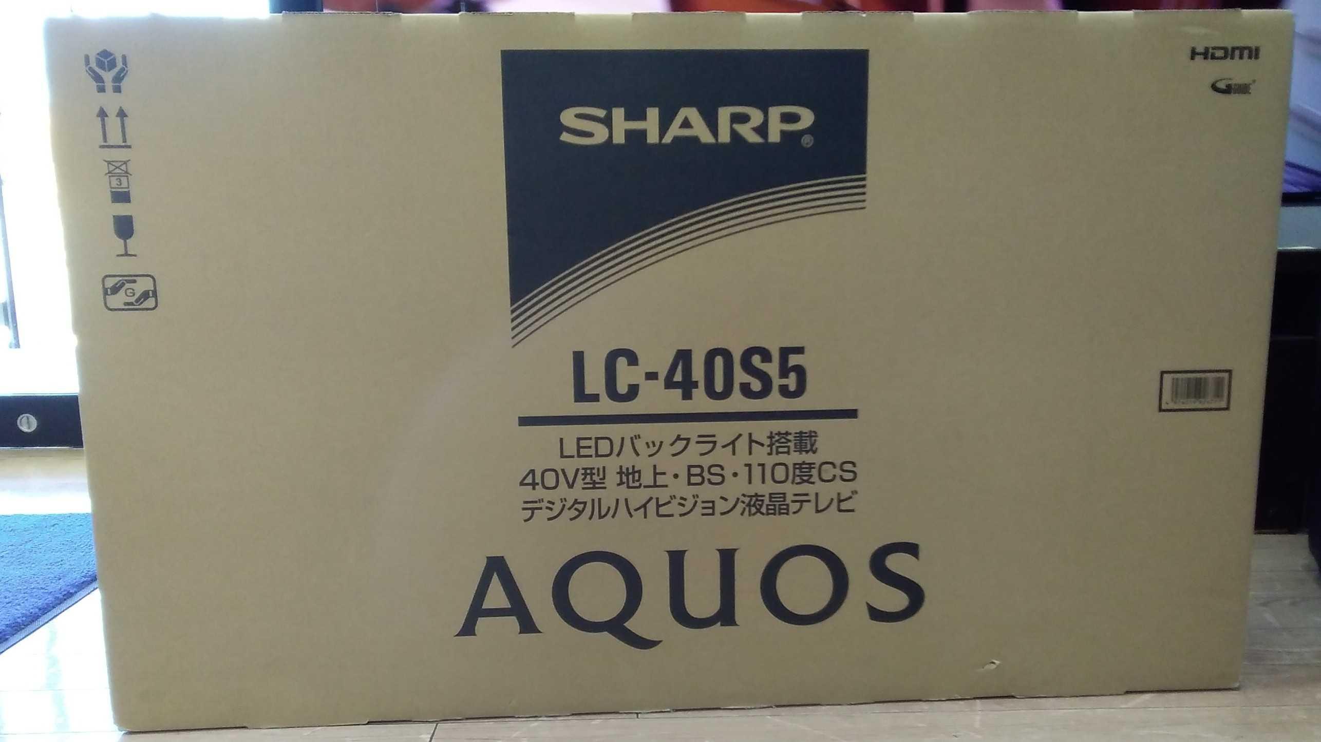 【未使用】液晶テレビ(40インチ)|SHARP