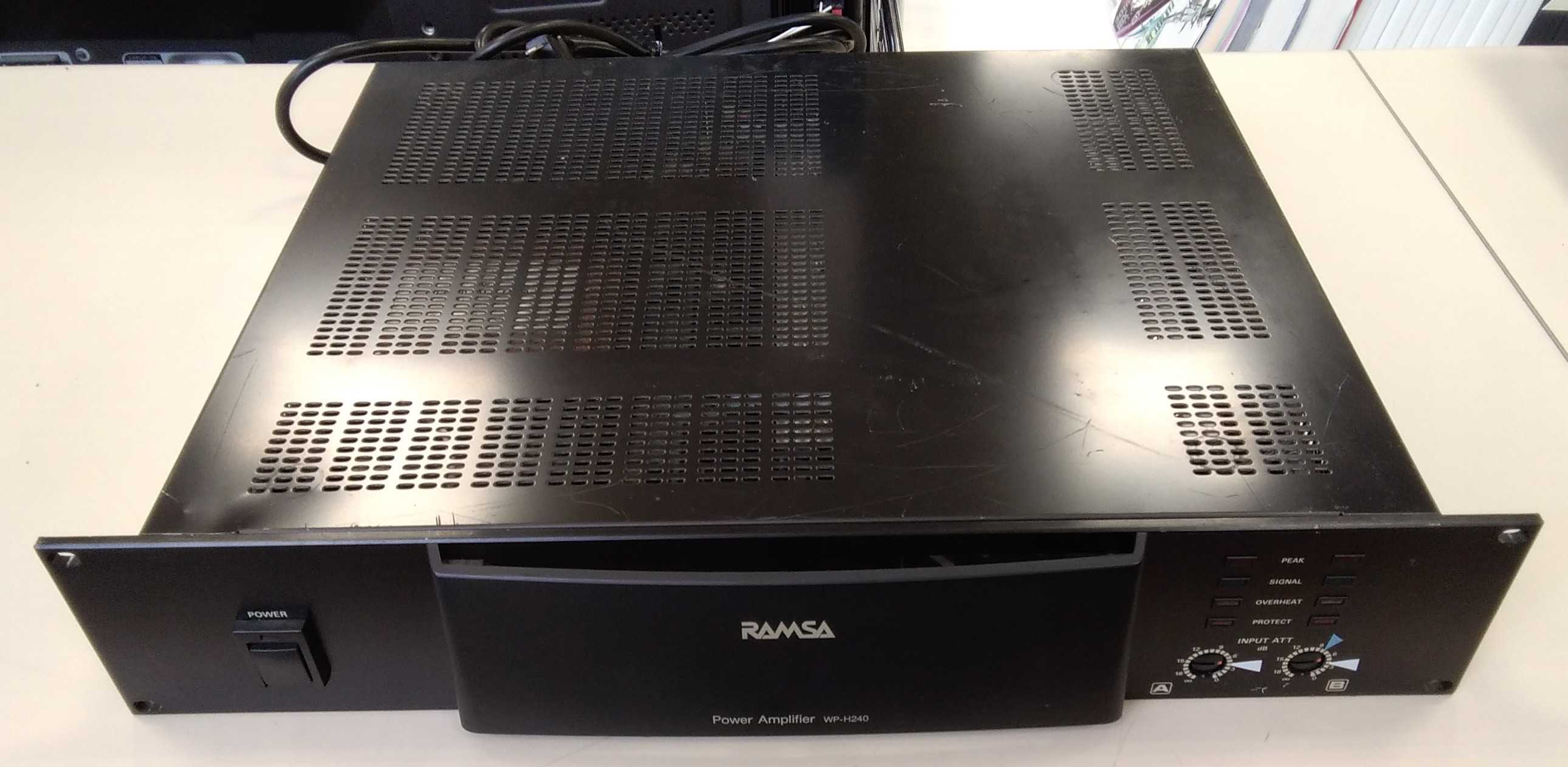 PAパワーアンプ|RAMSA