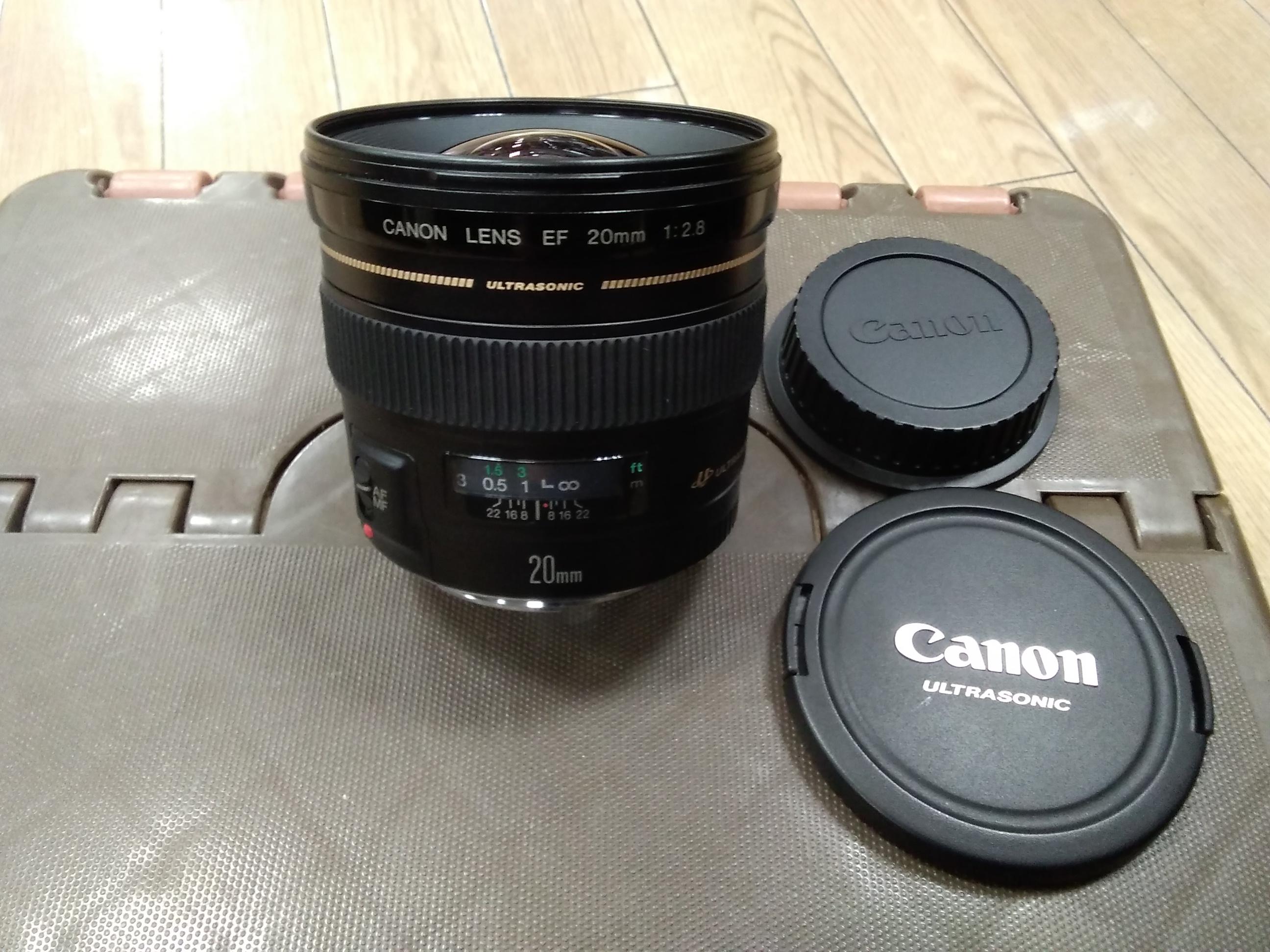 広角単焦点レンズ|CANON