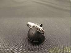 Pt999リング|宝石付きリング