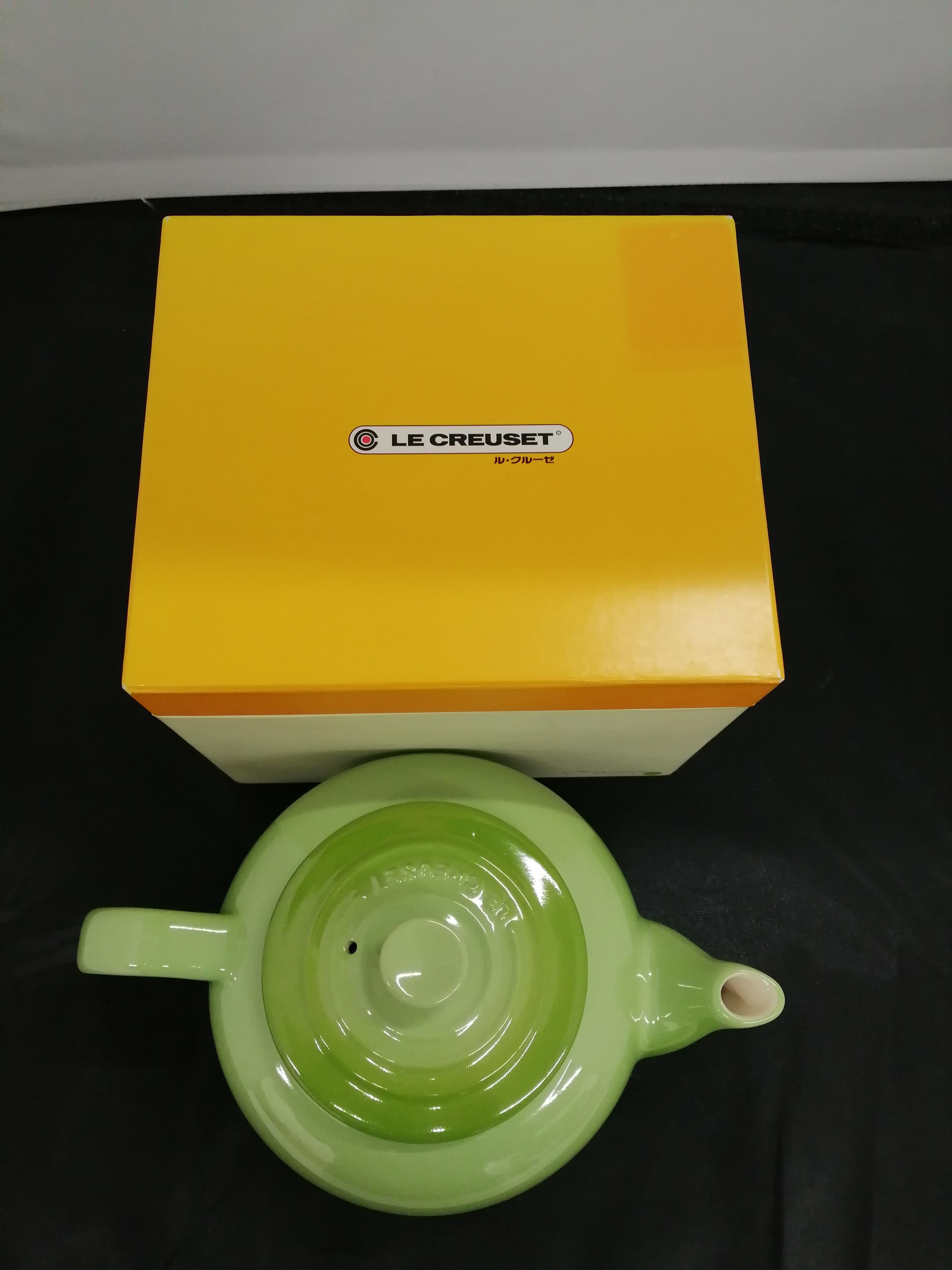 SMALL TEA POT (グリーン.)|LE CREUSET