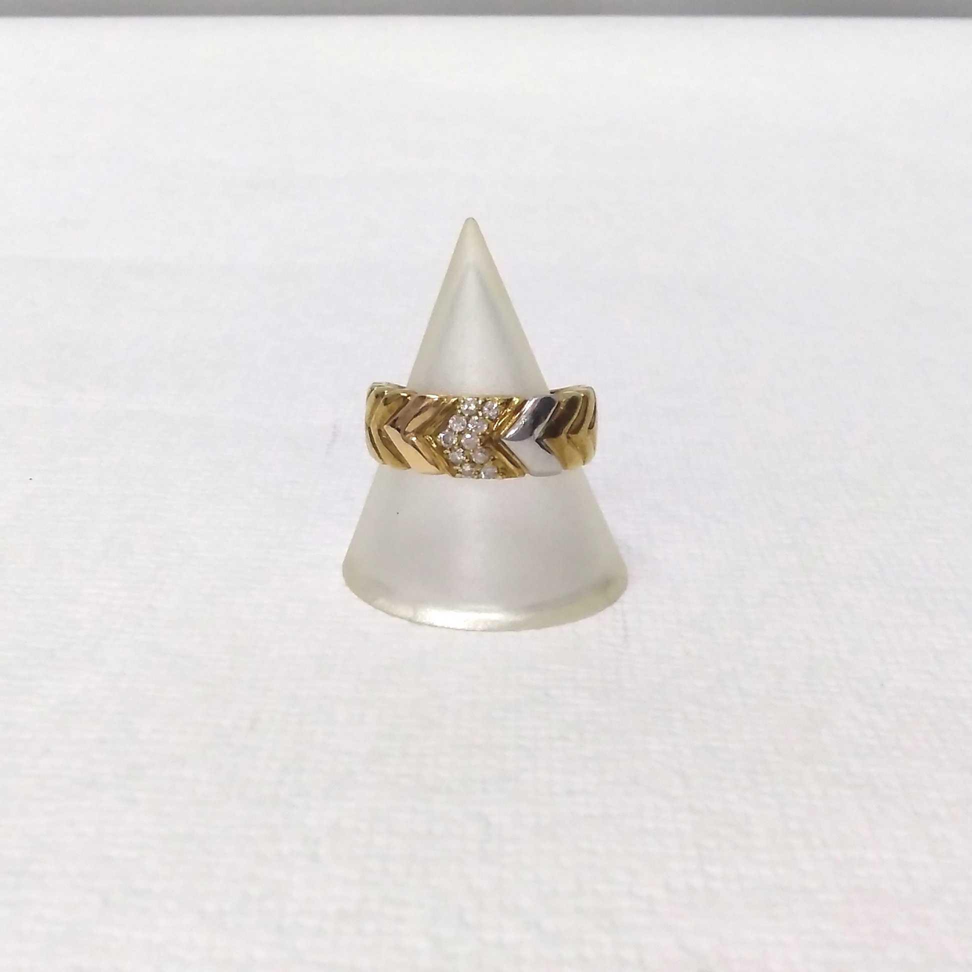 コンビ|宝石付きリング