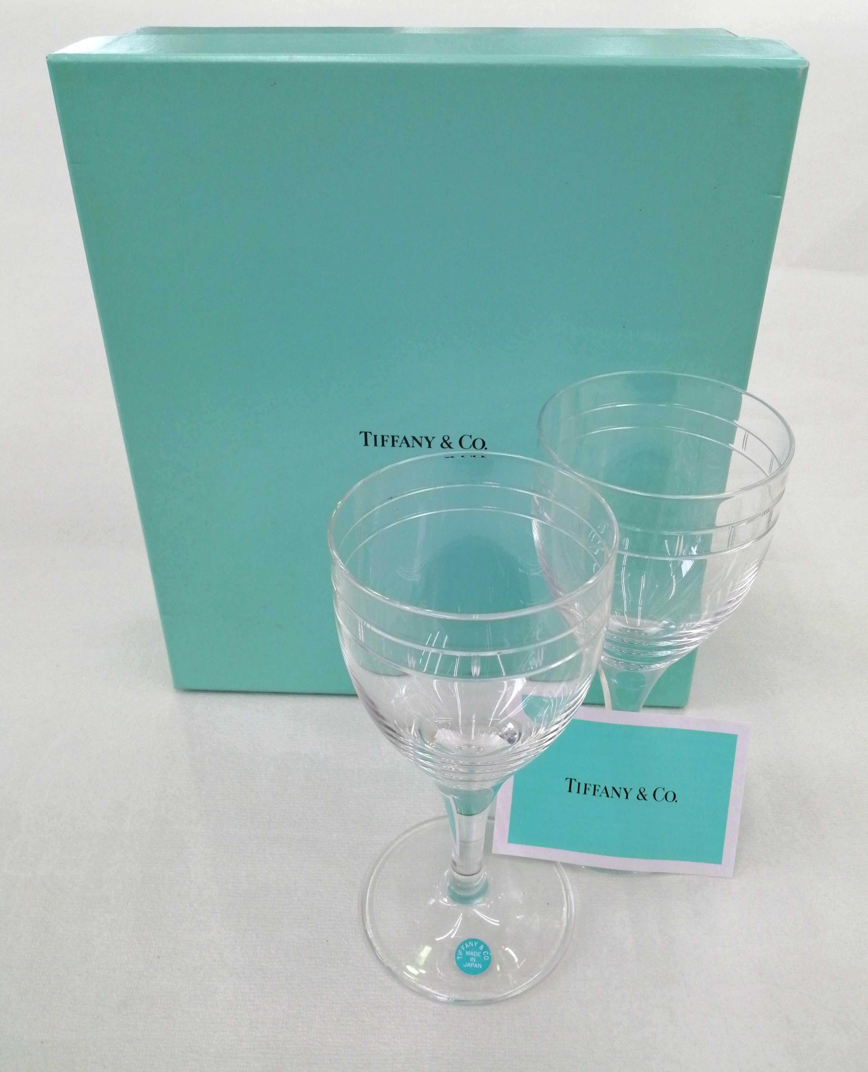 ペア ワイングラス|TIFFANY&CO.