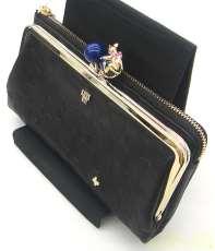 プレイングキャット2つ折り財布|ANNA SUI