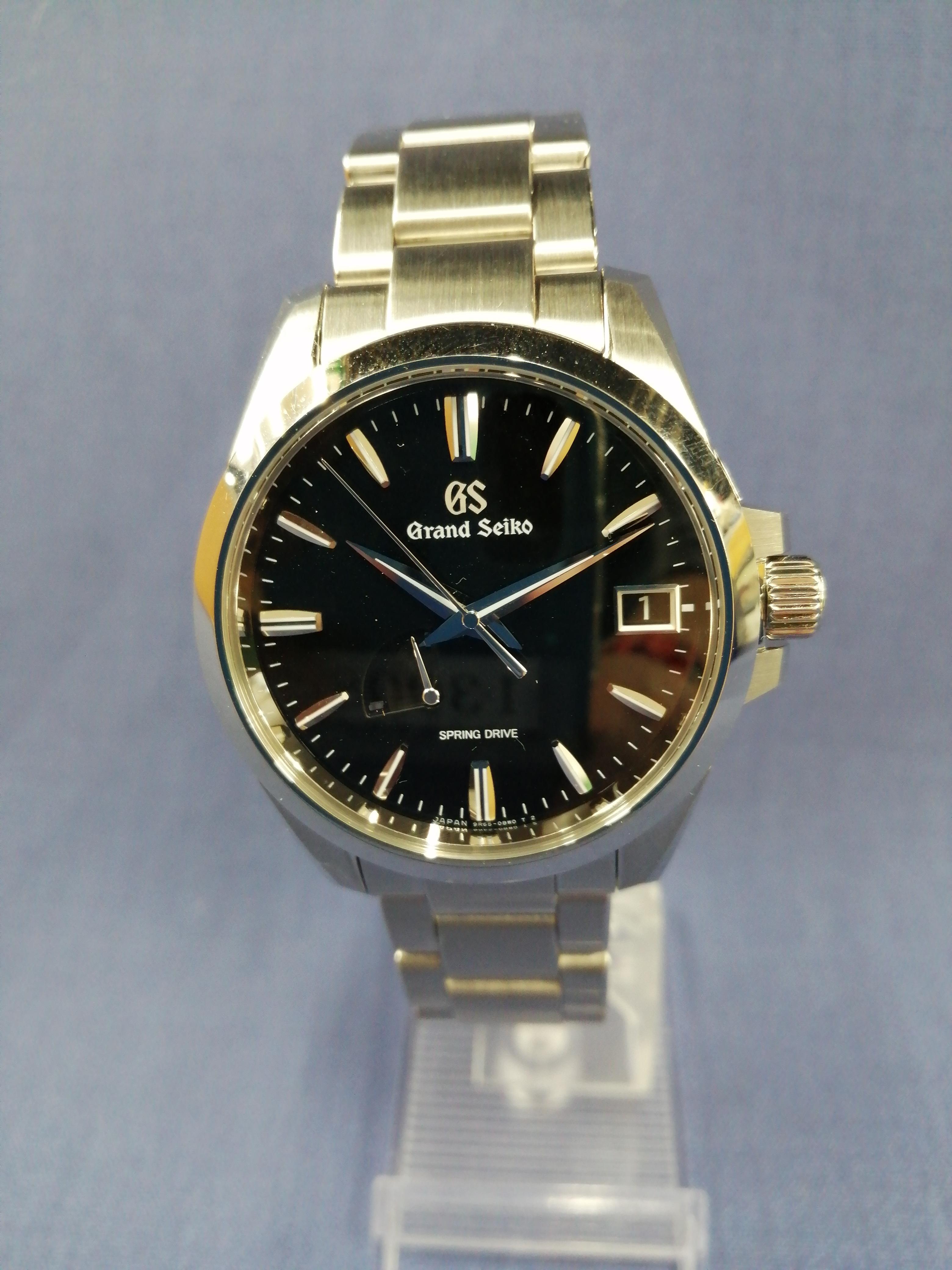 自動巻きアナログ腕時計|GRAND SEIKO