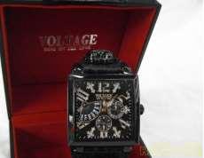 クォーツ・アナログ腕時計|VOLTAGE