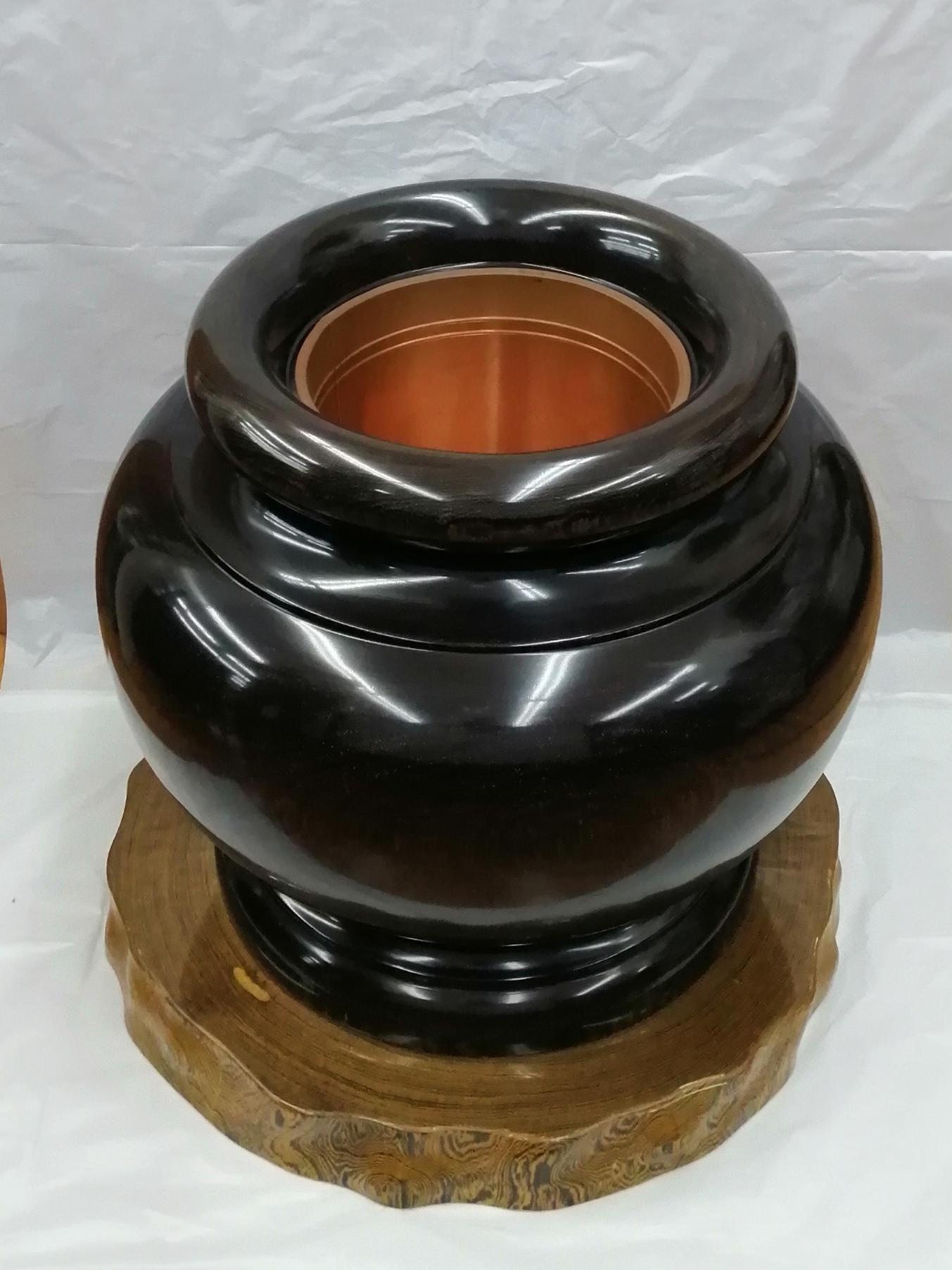 火鉢(台付き)|-