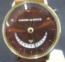 クォーツ・アナログ腕時計 CABANE DE ZUCCA