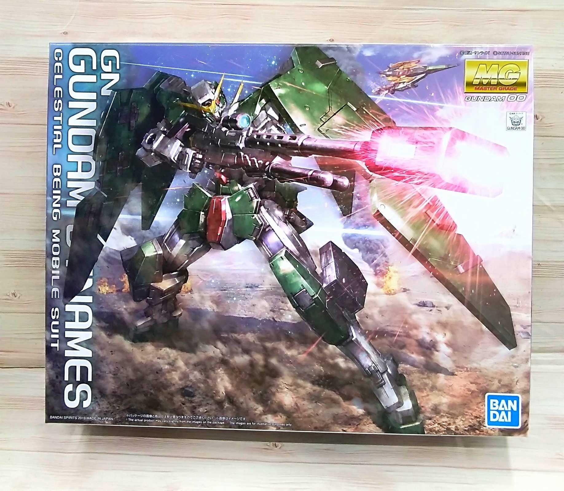 GN-002 GUNDAM DYNAMES BANDAI