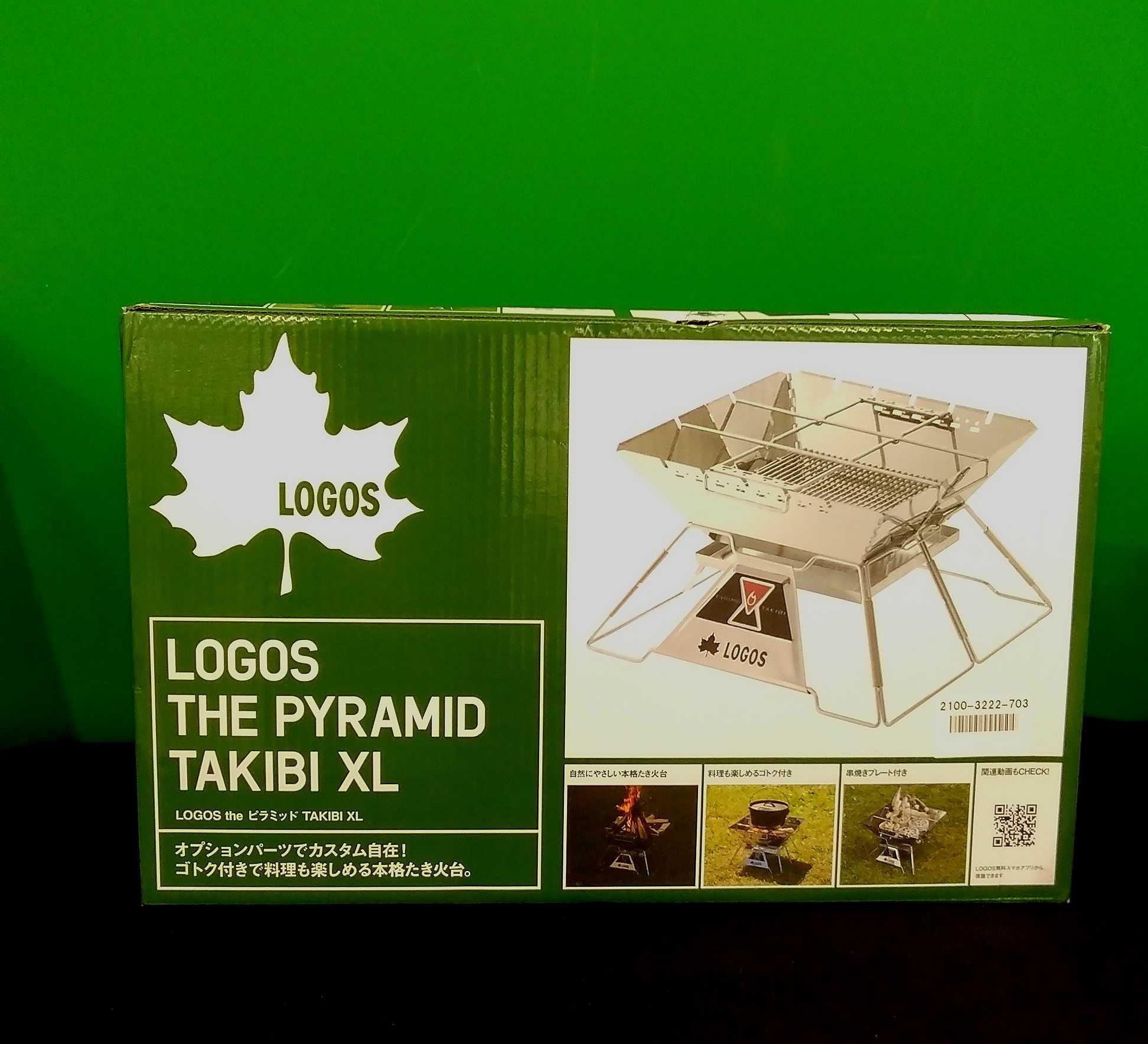 THE PYRAMID TAKIBI XL|LOGOS