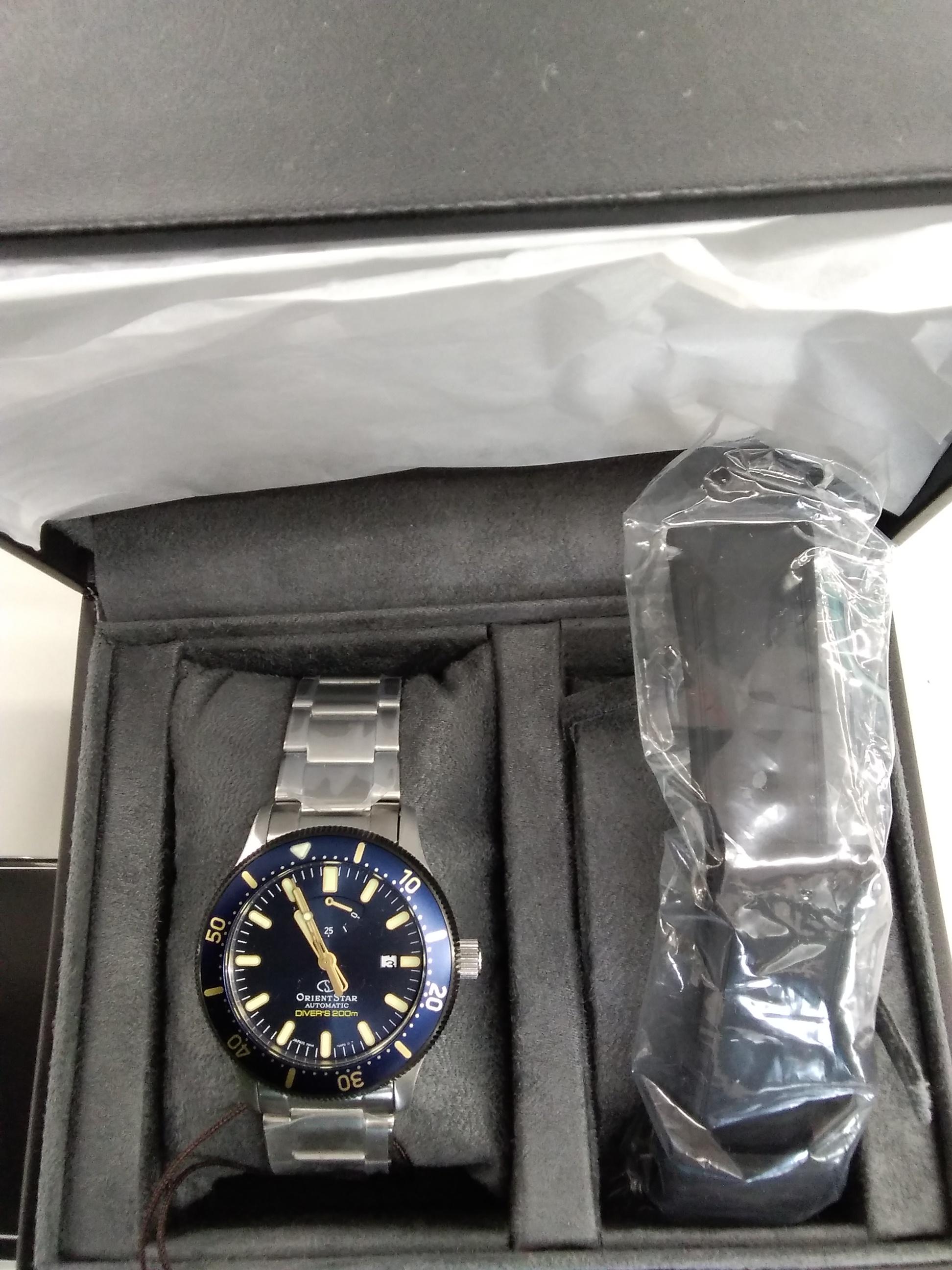 【未使用】自動巻き腕時計|ORIENT STAR