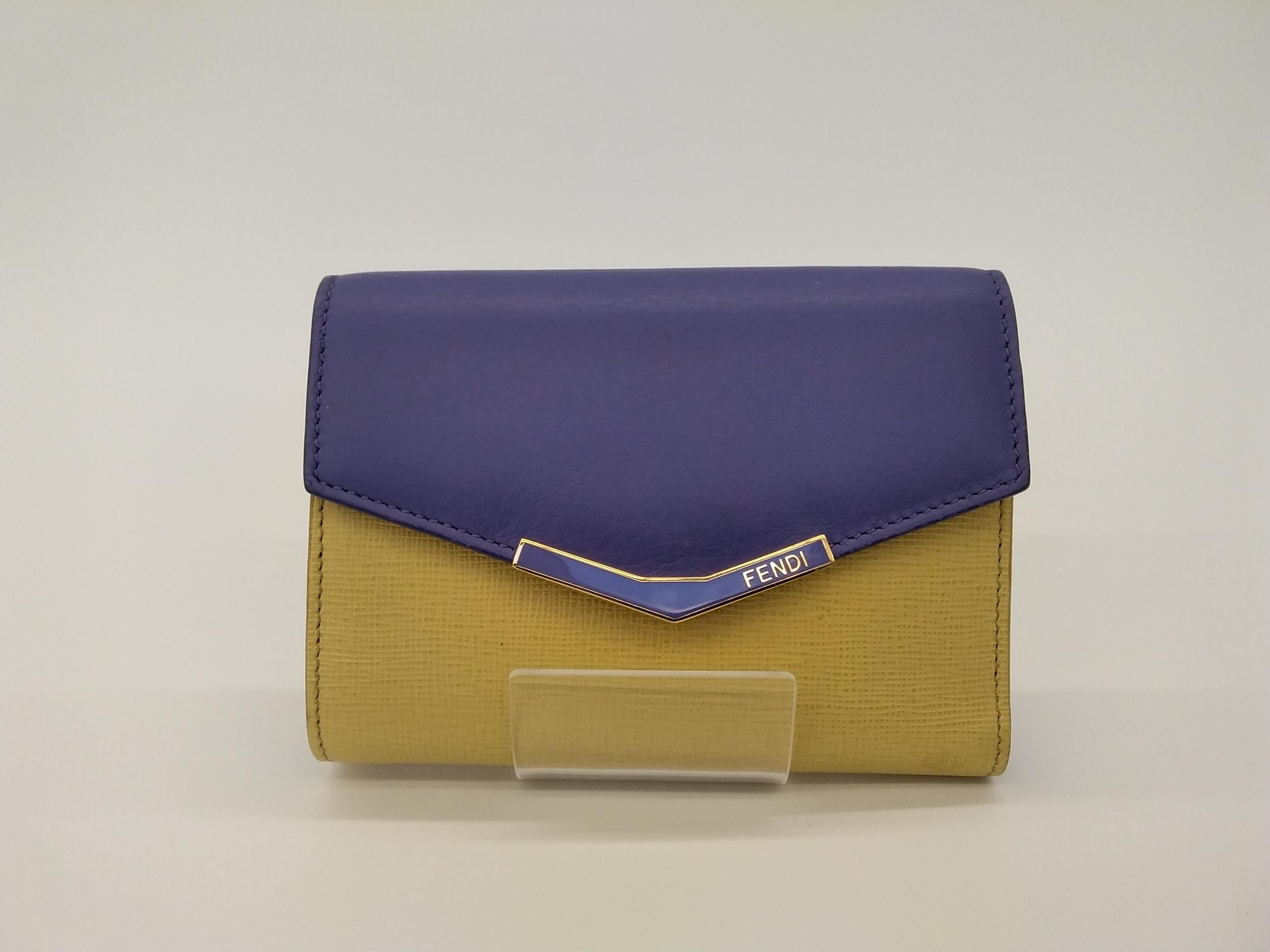 三つ折り財布|FENDI
