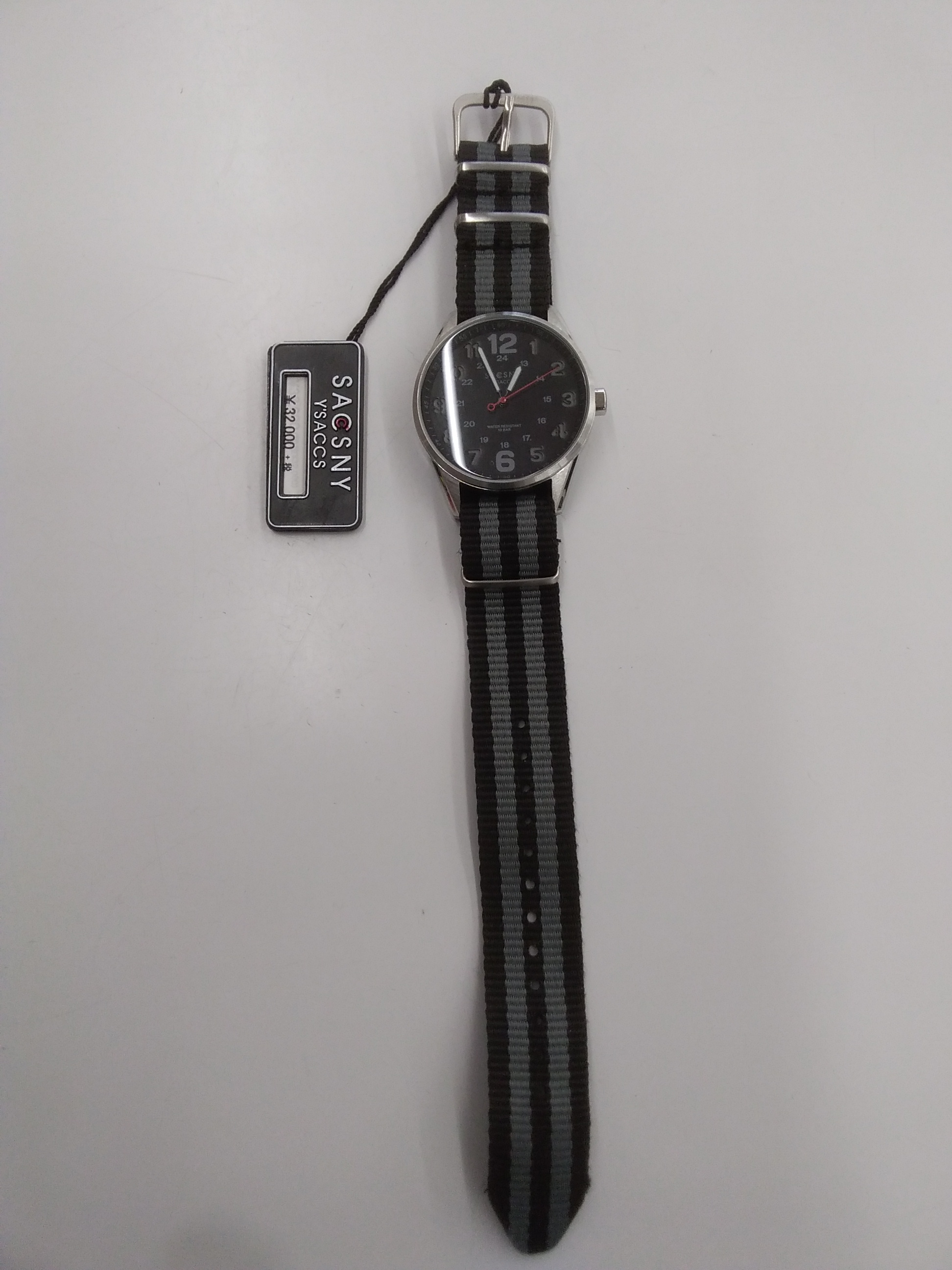 クォーツ・アナログ腕時計 SACSNY