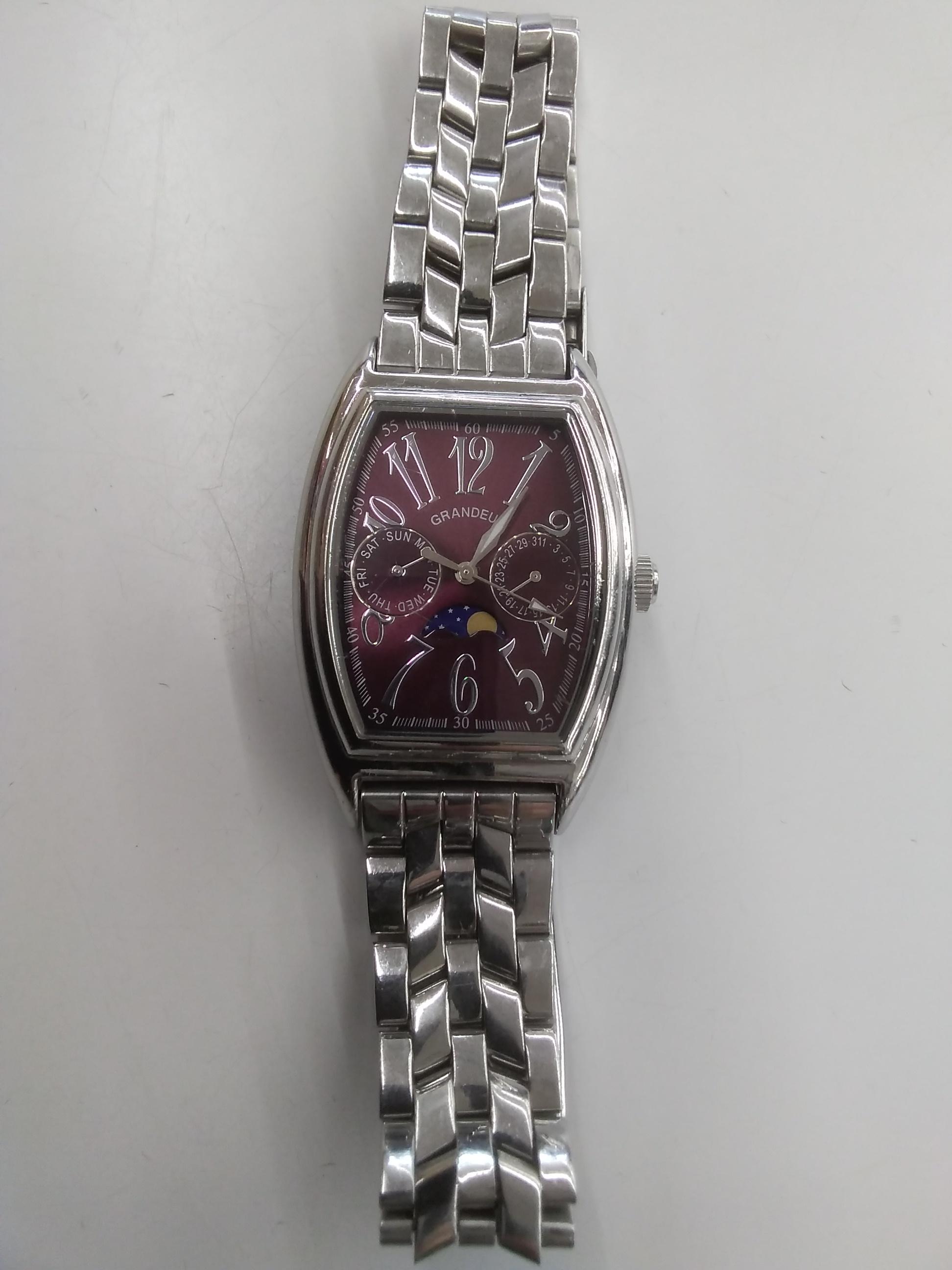 クォーツ・アナログ腕時計 GRANDEUR