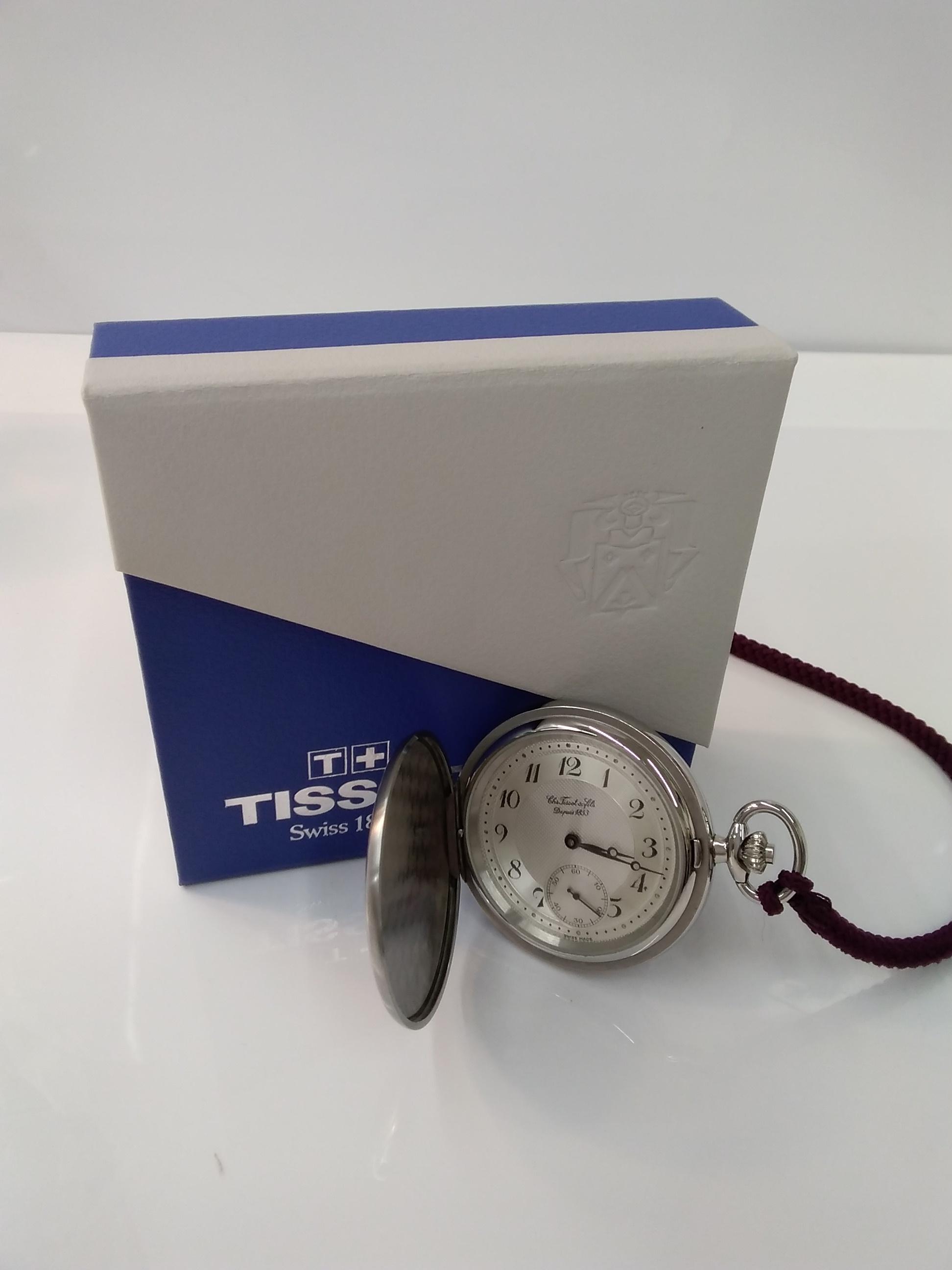 手巻き懐中時計|TISSOT
