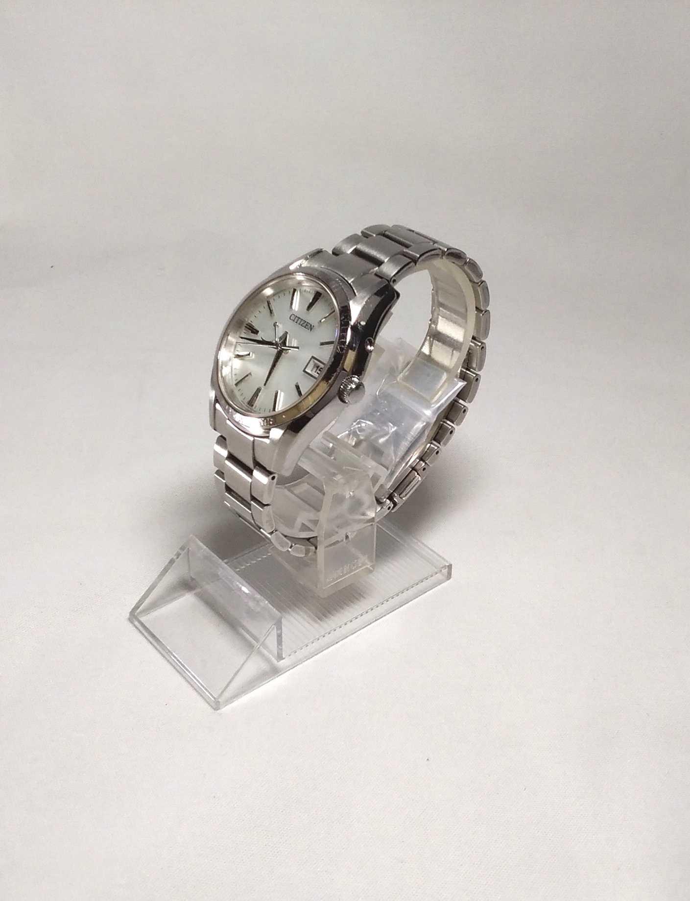 ソーラー電波腕時計 シチズン
