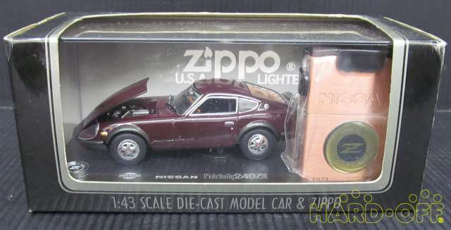 Zippo NISSAN FAIR LADY 240 ZG escala 14 coche