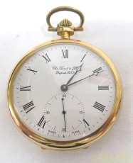 手巻き機械式懐中時計