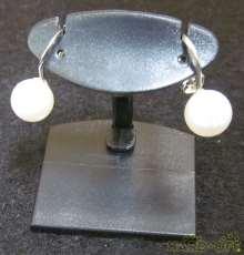 K14WGイヤリング|宝石付きイヤリング