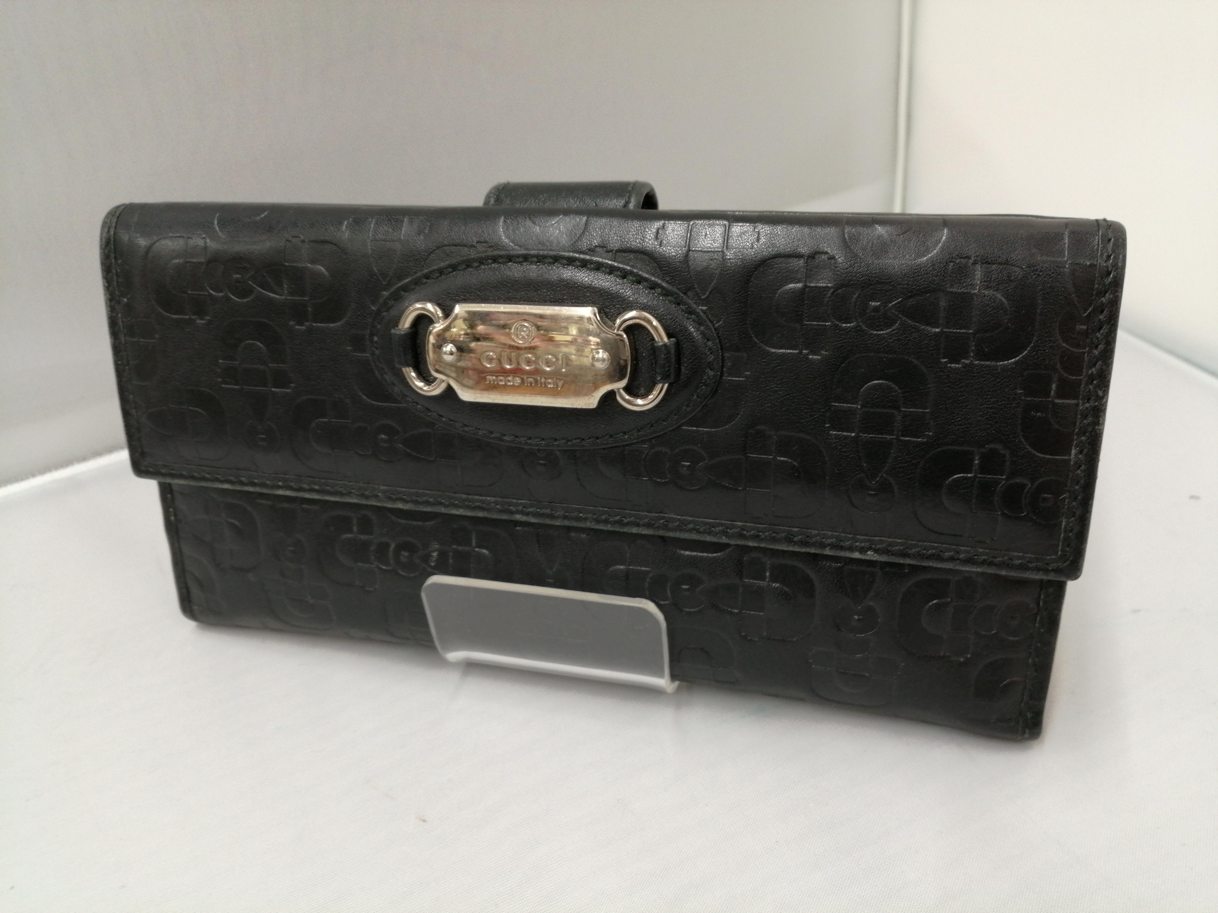 Wホック長財布|GUCCI