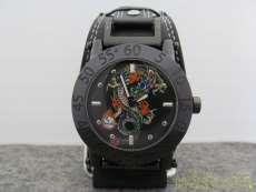 クォーツ・アナログ腕時計 ED HARDY
