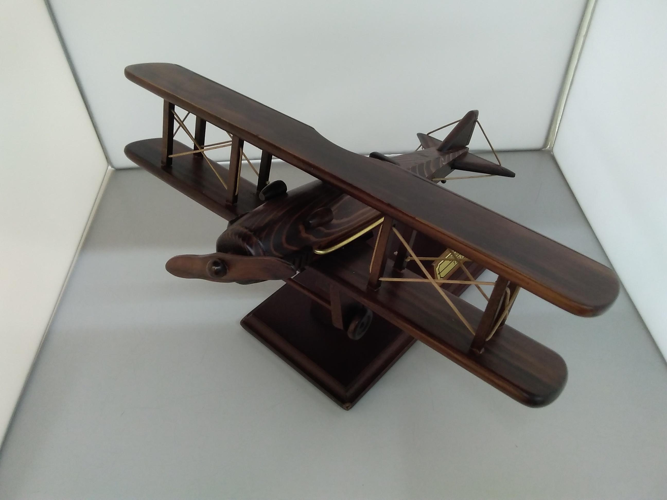 【模型】SPAD13複翼戦闘機【木製】|不明