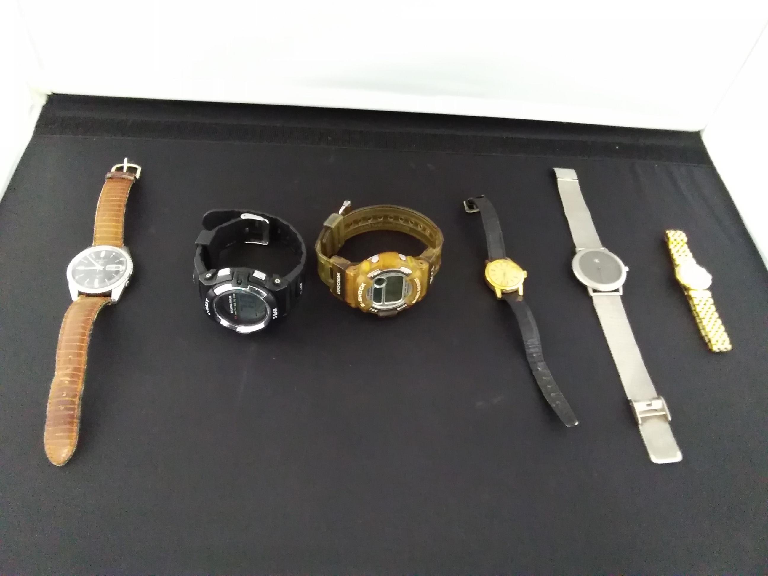 ジャンク腕時計6点セット|-