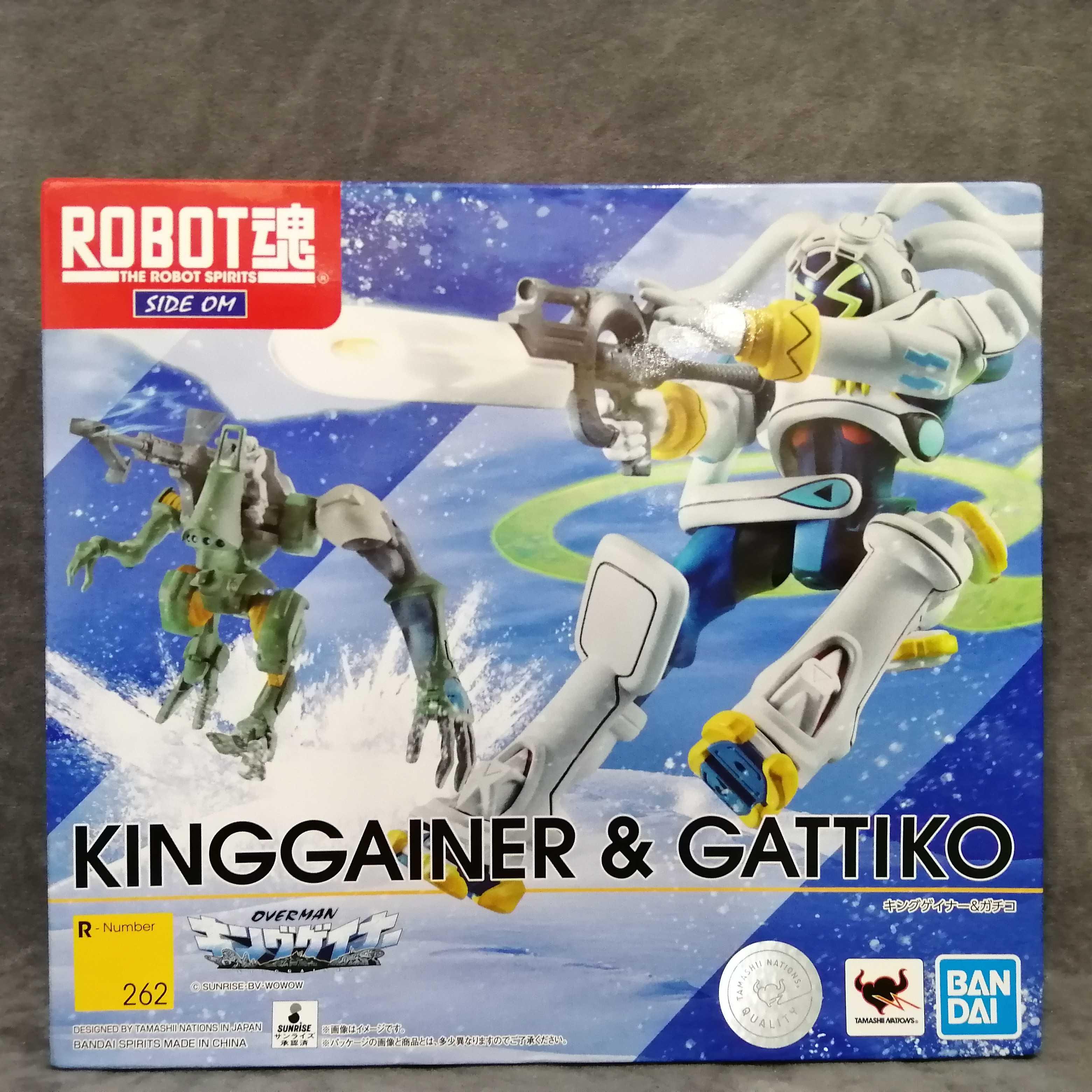 ROBOT魂キングゲイナー&ガチコ BANDAI