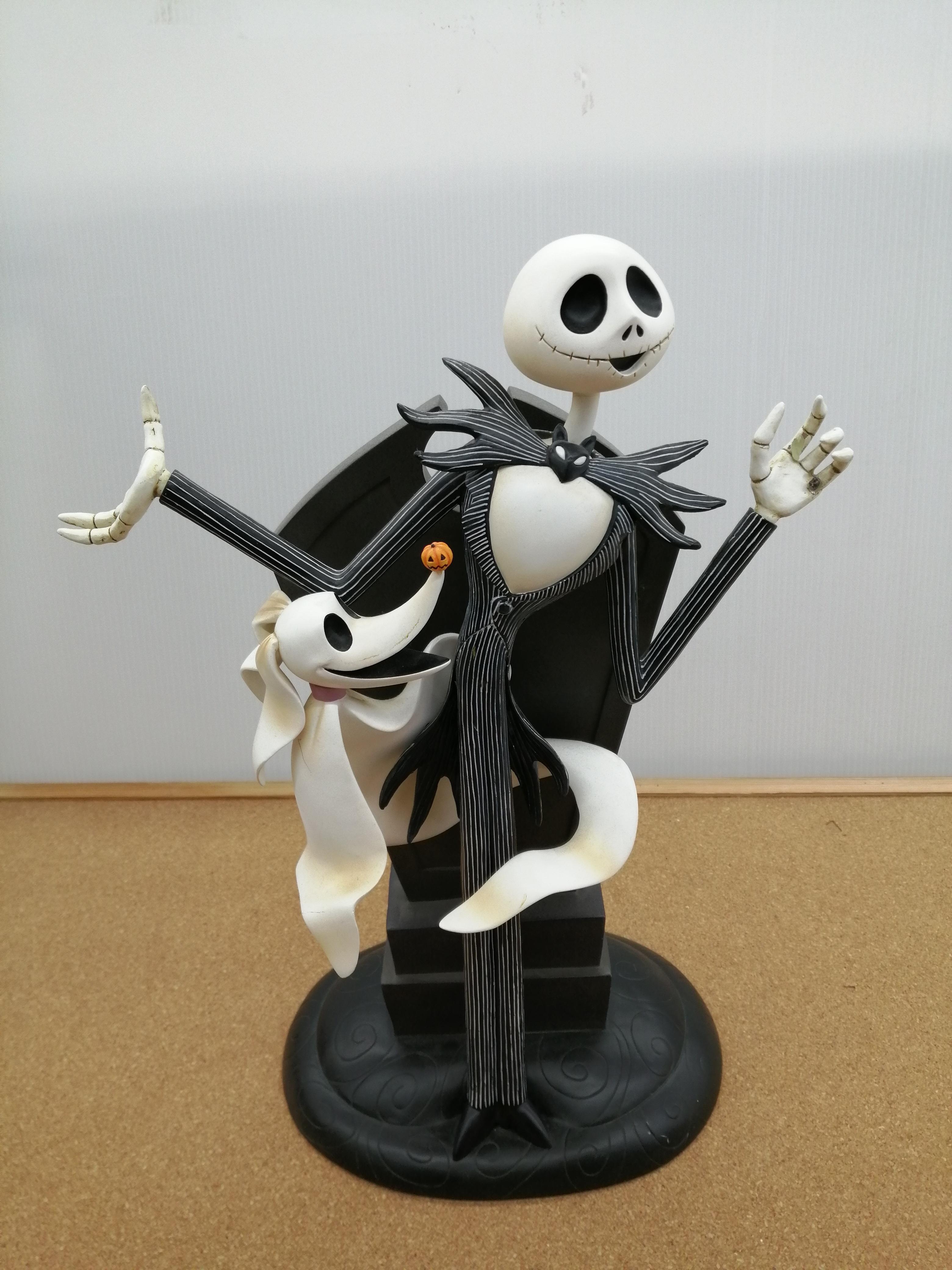【破損有】ジャックスケリントン陶人形|DISNEY