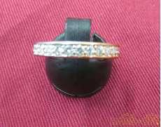 K18PT900リング|宝石付きリング