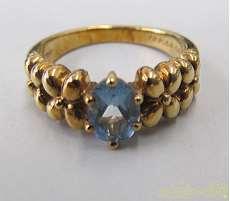 750リング|宝石付きリング