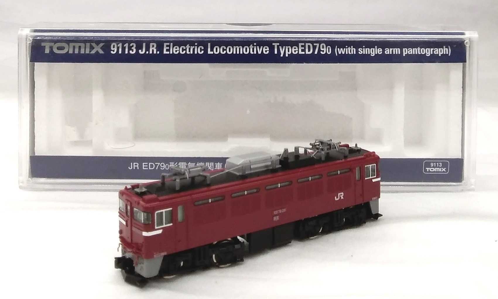 JR ED790電気機関 シングルアームパンタグラフ搭載車 TOMIX