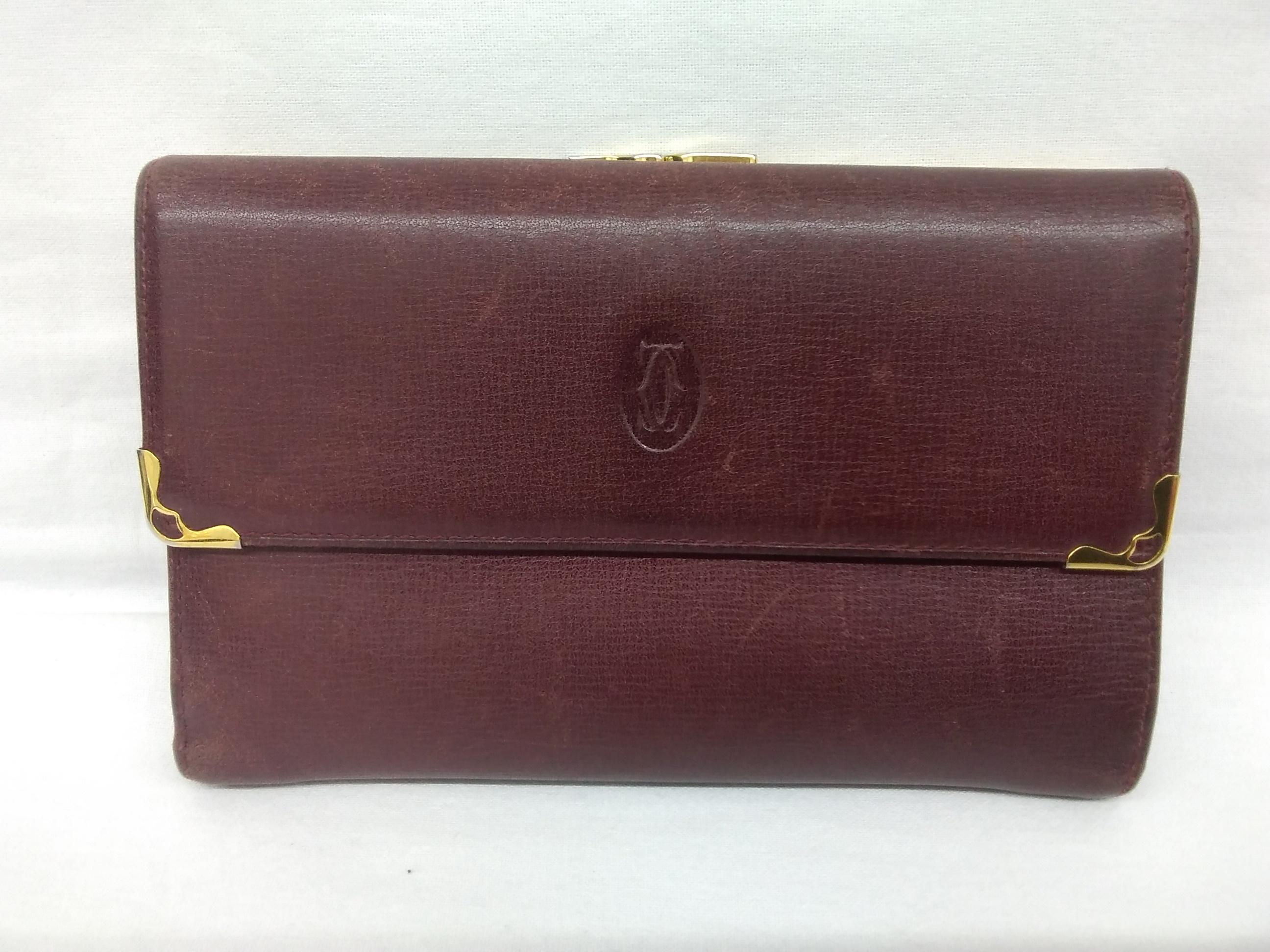 三つ折財布|CARTIER