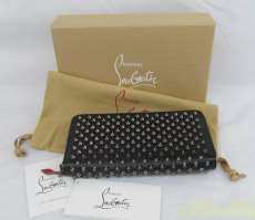 長財布 BLACK|CHRISTIAN LOUBOUTIN