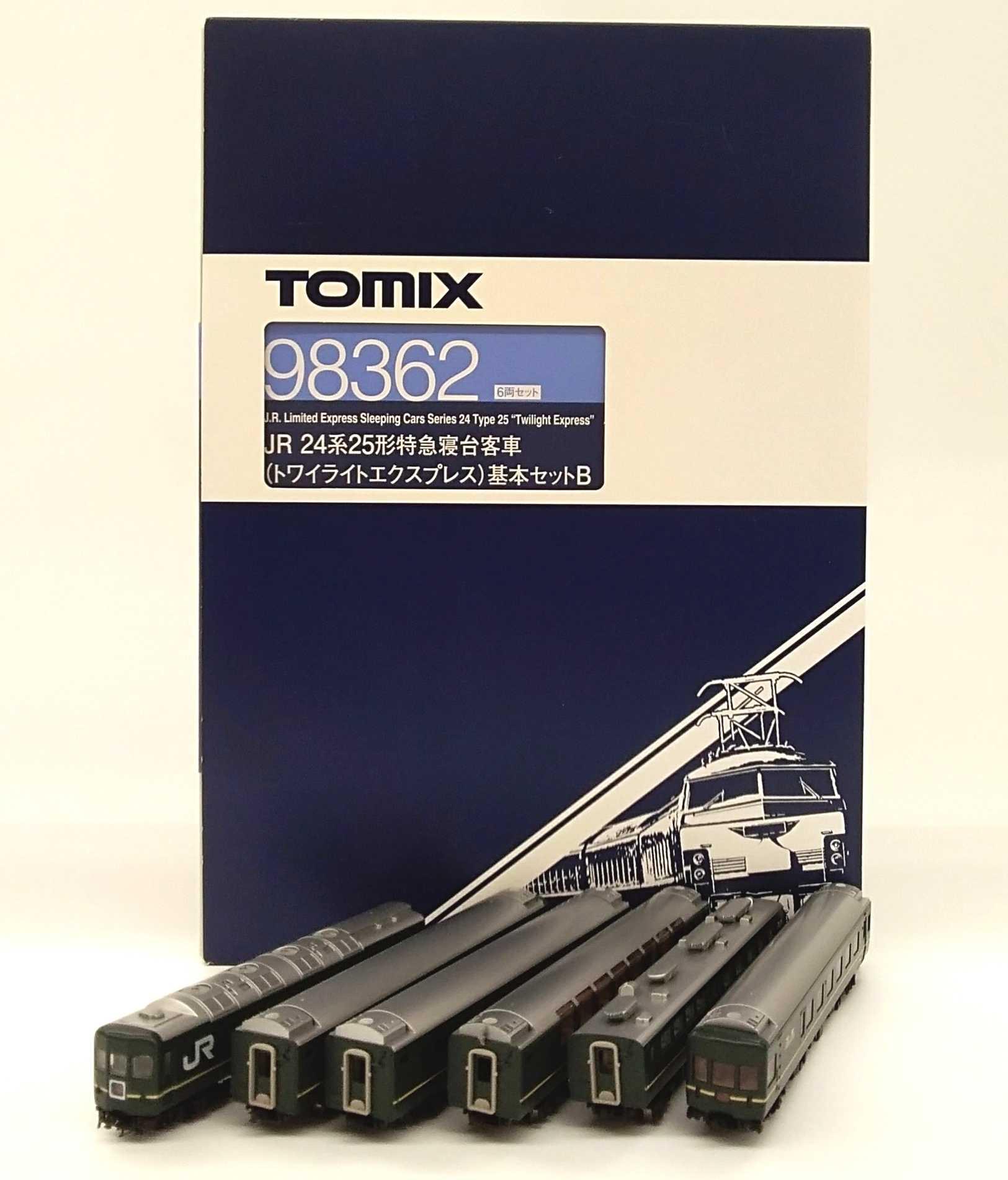 24系 25系特急寝台列車トワイライトエクスプレス TOMIX