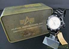 クォーツ・アナログ腕時計|ALPHA