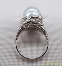 Pt900リング|宝石付きイヤリング