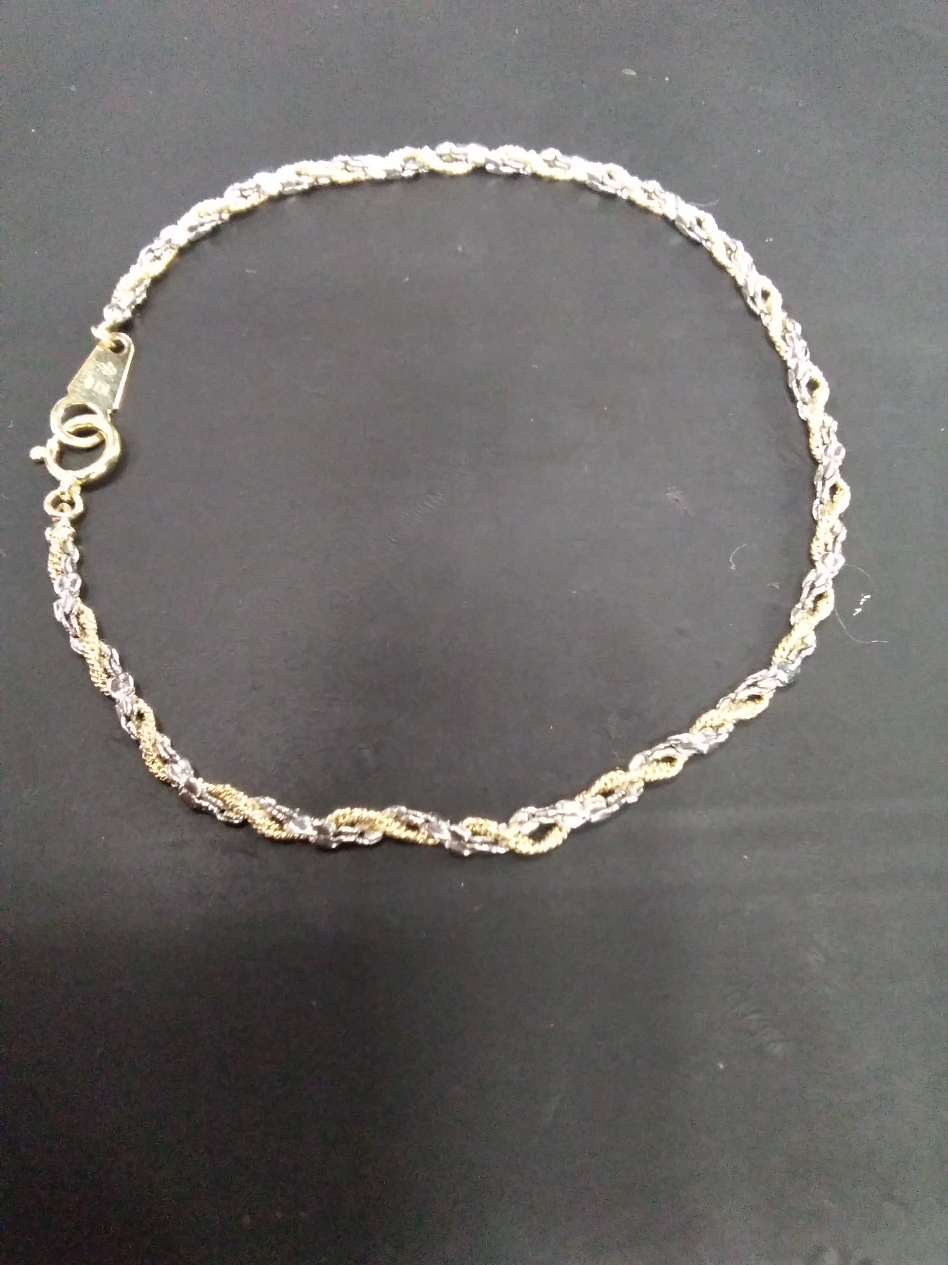 K18PT850ブレスレット 宝石無しブレスレット