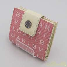 二つ折り財布 ロゴマニア