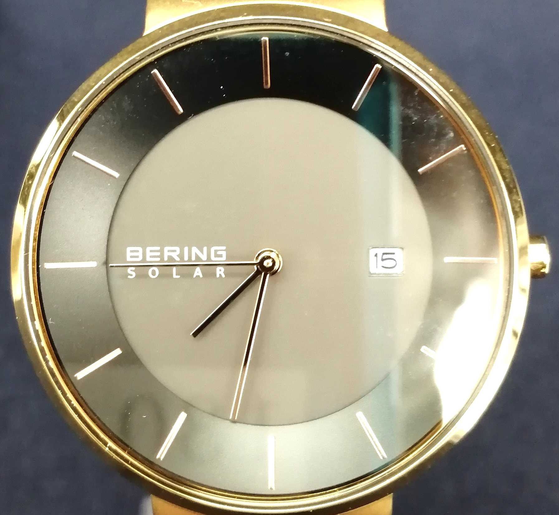ソーラー腕時計 BERING