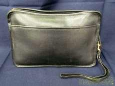 レザーセカンドバッグ|COACH