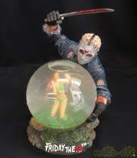 FRIDAY THE 13TH HORROR GLOBE|NECA