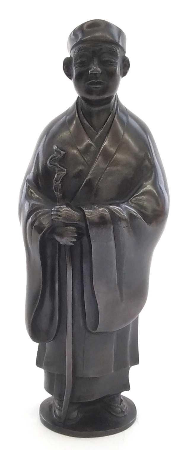 立像|唐銅