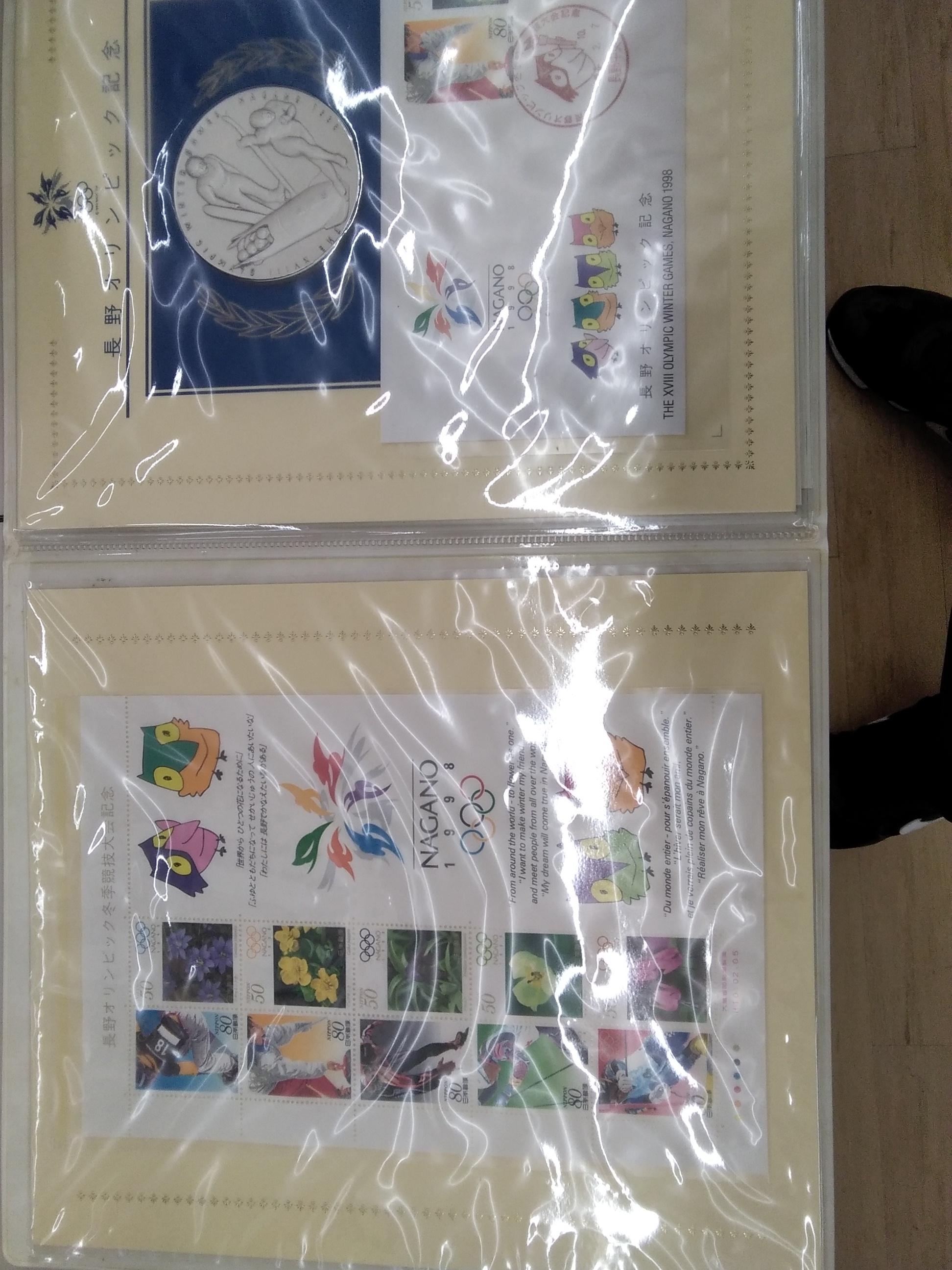 純銀製長野オリンピック記念メダル|長野オリンピック