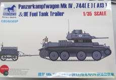 独軍A13巡航戦車744(E)鹵獲車輛 NO ID