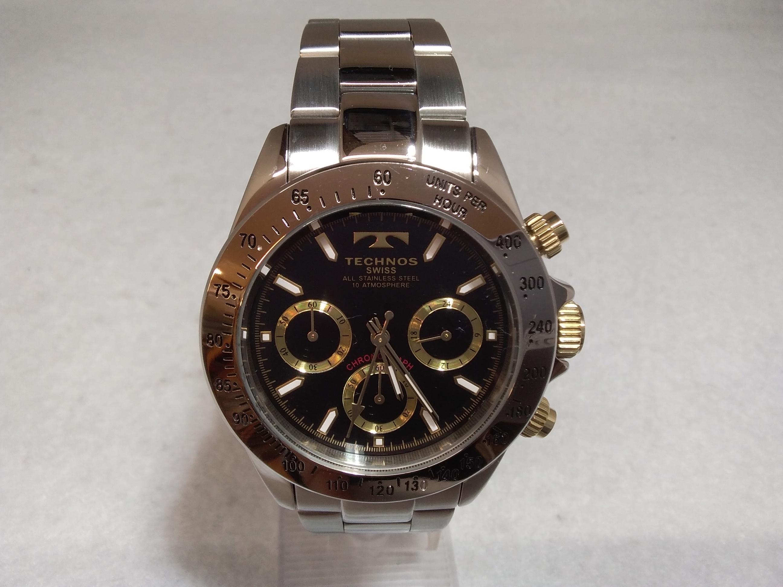 クォーツ腕時計|TECHNOS